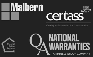 Malbern Windows Accreditation Logos