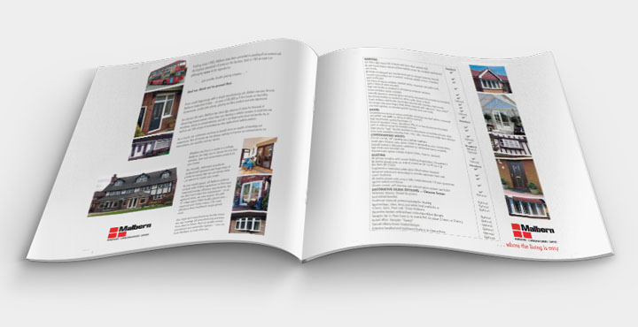 Malbern Windows Brochure